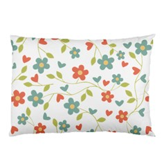 Abstract Vintage Flower Floral Pattern Pillow Case