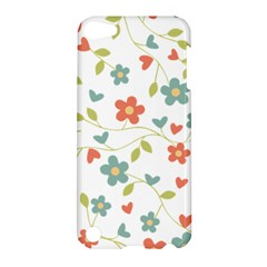Abstract Vintage Flower Floral Pattern Apple Ipod Touch 5 Hardshell Case