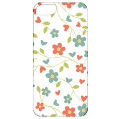Abstract Vintage Flower Floral Pattern Apple Iphone 5 Classic Hardshell Case