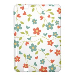 Abstract Vintage Flower Floral Pattern Kindle Fire Hd 8 9