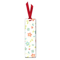 Abstract Vintage Flower Floral Pattern Small Book Marks