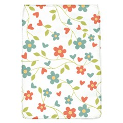 Abstract Vintage Flower Floral Pattern Flap Covers (l)