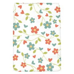 Abstract Vintage Flower Floral Pattern Flap Covers (s)