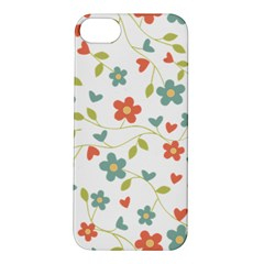 Abstract Vintage Flower Floral Pattern Apple Iphone 5s/ Se Hardshell Case