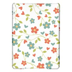 Abstract Vintage Flower Floral Pattern Ipad Air Hardshell Cases