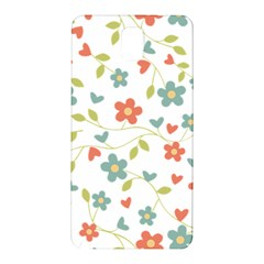 Abstract Vintage Flower Floral Pattern Samsung Galaxy Note 3 N9005 Hardshell Back Case