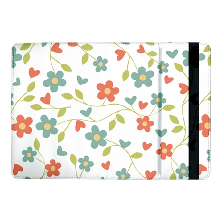 Abstract Vintage Flower Floral Pattern Samsung Galaxy Tab Pro 10.1  Flip Case