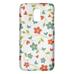 Abstract Vintage Flower Floral Pattern Galaxy S5 Mini