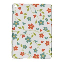 Abstract Vintage Flower Floral Pattern iPad Air 2 Hardshell Cases
