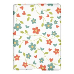 Abstract Vintage Flower Floral Pattern Samsung Galaxy Tab S (10 5 ) Hardshell Case