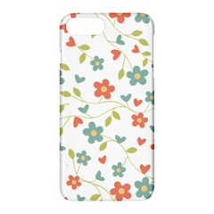 Abstract Vintage Flower Floral Pattern Apple Iphone 7 Plus Hardshell Case