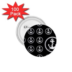 Anchor Pattern 1.75  Buttons (100 pack)