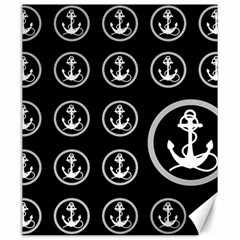 Anchor Pattern Canvas 20  X 24