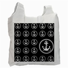 Anchor Pattern Recycle Bag (two Side)