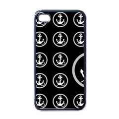 Anchor Pattern Apple Iphone 4 Case (black)