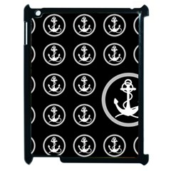 Anchor Pattern Apple Ipad 2 Case (black)
