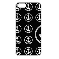 Anchor Pattern Apple Iphone 5 Seamless Case (white)