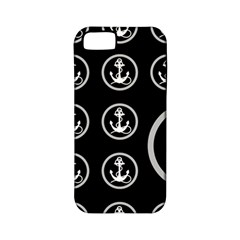 Anchor Pattern Apple Iphone 5 Classic Hardshell Case (pc+silicone)