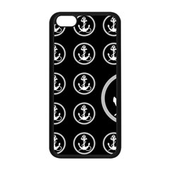 Anchor Pattern Apple Iphone 5c Seamless Case (black)