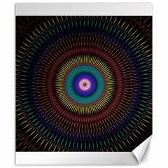 Artskop Kaleidoscope Pattern Ornamen Mantra Canvas 20  X 24