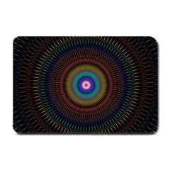 Artskop Kaleidoscope Pattern Ornamen Mantra Small Doormat
