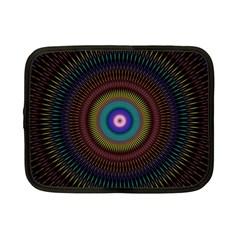 Artskop Kaleidoscope Pattern Ornamen Mantra Netbook Case (small)