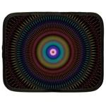 Artskop Kaleidoscope Pattern Ornamen Mantra Netbook Case (Large) Front