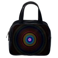 Artskop Kaleidoscope Pattern Ornamen Mantra Classic Handbags (one Side)
