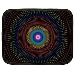 Artskop Kaleidoscope Pattern Ornamen Mantra Netbook Case (xxl)