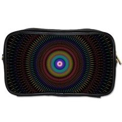 Artskop Kaleidoscope Pattern Ornamen Mantra Toiletries Bags