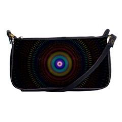 Artskop Kaleidoscope Pattern Ornamen Mantra Shoulder Clutch Bags