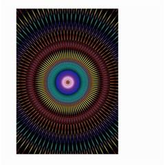 Artskop Kaleidoscope Pattern Ornamen Mantra Large Garden Flag (two Sides)