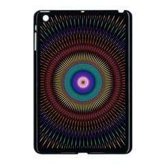 Artskop Kaleidoscope Pattern Ornamen Mantra Apple Ipad Mini Case (black)