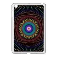 Artskop Kaleidoscope Pattern Ornamen Mantra Apple Ipad Mini Case (white)