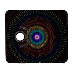 Artskop Kaleidoscope Pattern Ornamen Mantra Galaxy S3 (flip/folio)