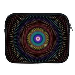 Artskop Kaleidoscope Pattern Ornamen Mantra Apple Ipad 2/3/4 Zipper Cases
