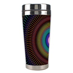 Artskop Kaleidoscope Pattern Ornamen Mantra Stainless Steel Travel Tumblers