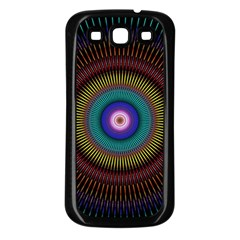 Artskop Kaleidoscope Pattern Ornamen Mantra Samsung Galaxy S3 Back Case (black)