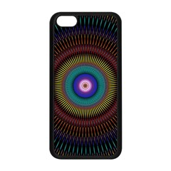 Artskop Kaleidoscope Pattern Ornamen Mantra Apple Iphone 5c Seamless Case (black)