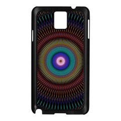 Artskop Kaleidoscope Pattern Ornamen Mantra Samsung Galaxy Note 3 N9005 Case (black)
