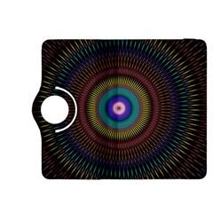 Artskop Kaleidoscope Pattern Ornamen Mantra Kindle Fire Hdx 8 9  Flip 360 Case