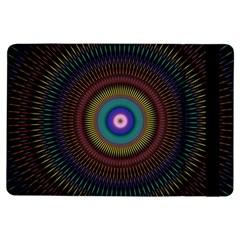 Artskop Kaleidoscope Pattern Ornamen Mantra Ipad Air Flip