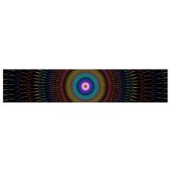 Artskop Kaleidoscope Pattern Ornamen Mantra Flano Scarf (small)