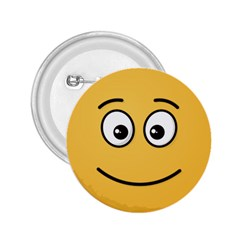 Smiling Face with Open Eyes 2.25  Buttons