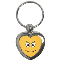 Smiling Face with Open Eyes Key Chains (Heart)