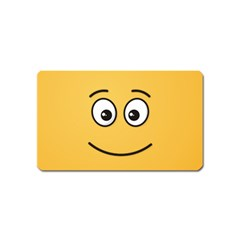 Smiling Face with Open Eyes Magnet (Name Card)