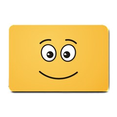 Smiling Face with Open Eyes Small Doormat