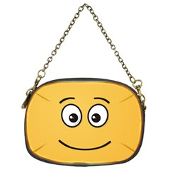 Smiling Face with Open Eyes Chain Purses (One Side)