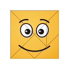 Smiling Face with Open Eyes Acrylic Tangram Puzzle (4  x 4 )