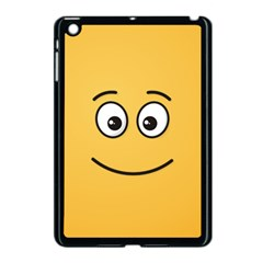 Smiling Face with Open Eyes Apple iPad Mini Case (Black)